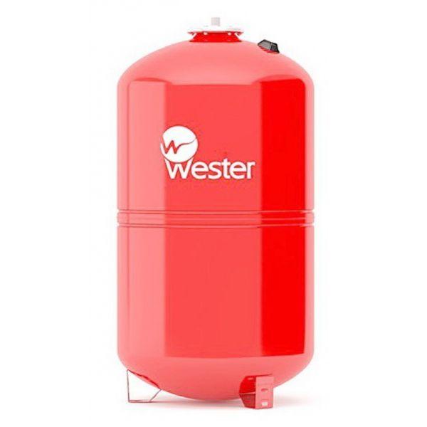 Бак расширительный мембранный WESTER WRV 200 для отопления купить в Белгороде