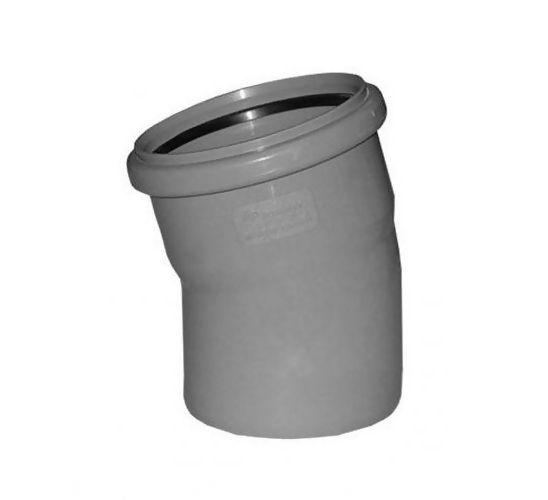 Отвод канализационный ПОЛИТЕК 110 х 15º купить в Белгороде