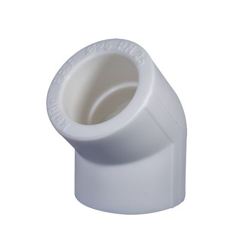 Угольник PPR 25х45 белый купить в Белгороде
