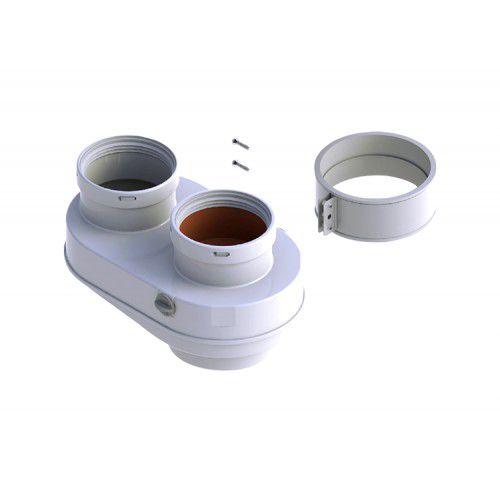 Адаптер для подключения раздельных труб диам. 80 мм. купить в Белгороде