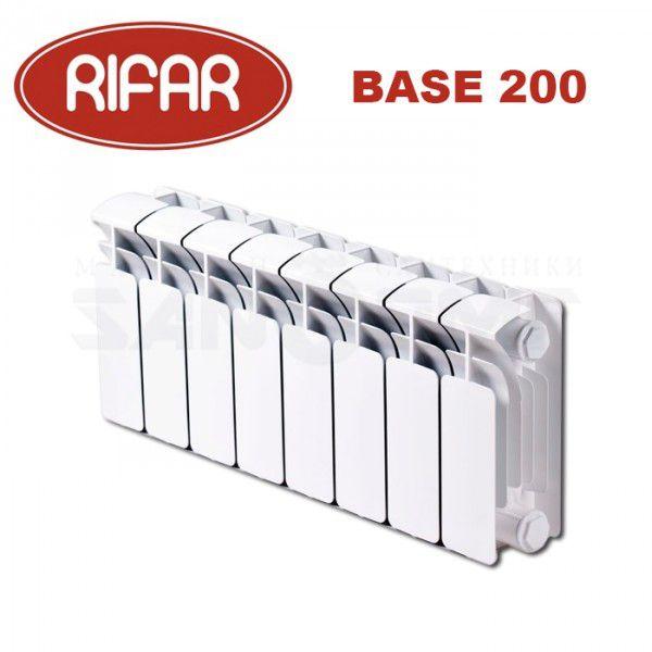 Биметаллический радиатор RIFAR BASE 200/100 купить в Белгороде