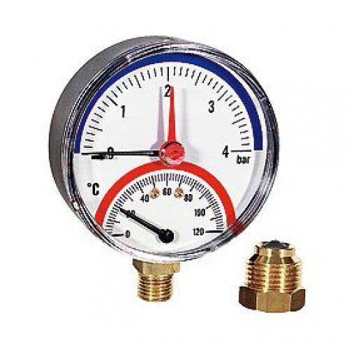Термоманометр AQUAtech 4 - 120 купить в Белгороде