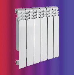Алюминиевый радиатор Lammin 350 / 80 купить в Белгороде