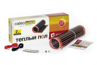 Пленочный теплый пол CALEO GOLD 170 Вт/м2, 1 м2 купить в Белгороде
