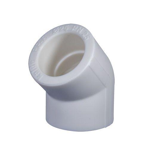 Угольник PPR 32х45 белый купить в Белгороде