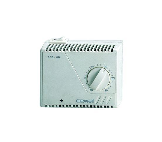 Комнатный термостат CEWAL RT30 с индикатором купить в Белгороде
