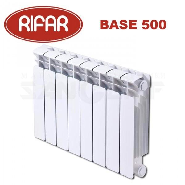 Биметаллический радиатор RIFAR BASE 500/100 купить в Белгороде