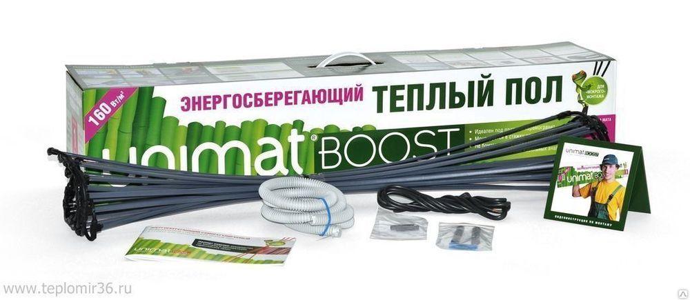 Стержневой теплый пол UNIMAT BOOST 160 Вт/м2, 1 м2 купить в Белгороде